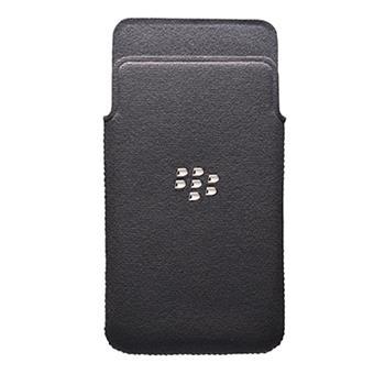 ACC-49282-201 BlackBerry MicroFibre Pouzdro Pocket pro Z10 Čierne (EU Blister)