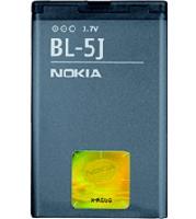 BL-5J Nokia baterie 1320mAh Li-Ion (Bulk) (5228,5230XM,5800 XM,N900,C3,X1-00,X1-01,X6,Asha201,Asha200, Asha302.)