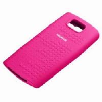 CC-1011 Nokia X3-02 Touch Silikonové pouzdro Pink (Bulk)