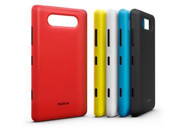 CC-3041 Nokia Lumia 820 ochranný kryt pro nabíjení White (EU Blister)
