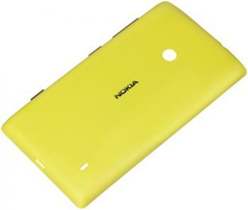 CC-3068 Nokia Lumia 520 Ochranný Kryt Yellow (EU Blister)