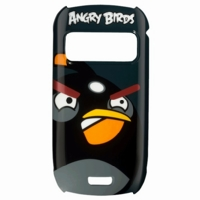 CC-5003 Nokia C7 pevné pouzdro Angry Birds Čierne (EU Blister)
