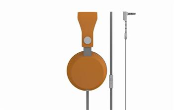 Coloud Stereo Headset Boom Blocks Grey/ Orange