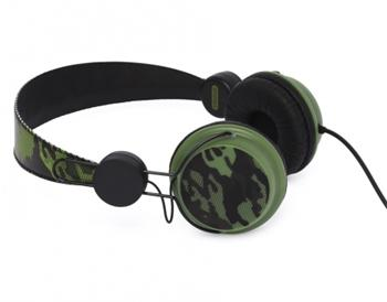 Coloud Stereo Headset Knock Transition Green