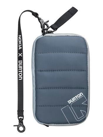 CP-612 BURTON Pouzdro Zipper Slate Blue (EU Blister)