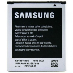 EB425161LU Samsung Baterie 1500mAh Li-Ion (Bulk) (Galaxy S3 mini i8190, TREND, TREND PLUS, S DUOS, ACE 2) (2500008318212)