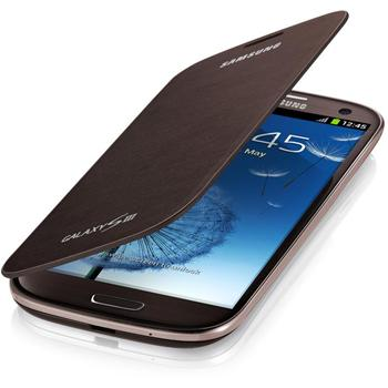 EFC-1G6FAE Samsung Flip Pouzdro pro Galaxy S III (i9300) Brown (EU Blister)