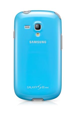EFC-1M7BLE Samsung Zadní Kryt pro Galaxy S3mini i8190, S3 mini i8200 VE Light Modré (EU Blister)