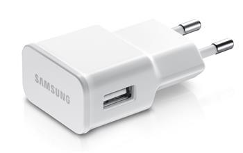 ETA-U90EW Samsung USB Cestovná nabíjačka 2A, biela (Bulk)