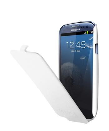 ETUISMGS3W Samsung Original Flip Pouzdro pro (i9300/S3 i9301 Neo) White (EU Blister)