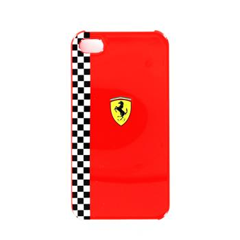FEFOP4R Ferrari Formula Zadní Kryt Red pro iPhone 4/4S