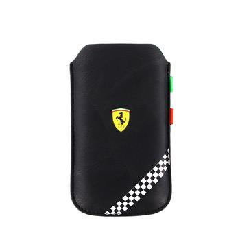 FEFOSLLB Ferrari Formula 1 Universal Kožené Pouzdro Black vel. L
