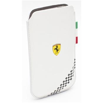 FEFOSLLW Ferrari Formula 1 Universal Kožené Pouzdro White vel. L