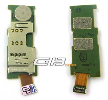 Flex kábel Nokia E52 SIM, microSD čítač
