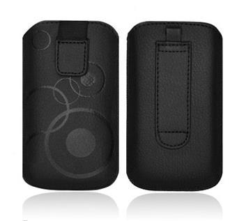 ForCell Deko Pouzdro Black pro HTC Desire C, Samsung S6500, S5360,...