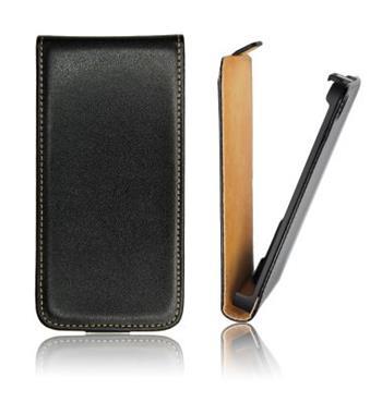 ForCell Slim Flip Pouzdro Čierne pro Samsung i8190 Galaxy S3mini, S3 mini i8200 VE čierne