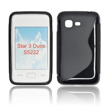ForCell Zadní Kryt Lux S Black pro Samsung S5220