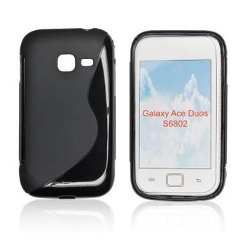 ForCell Zadní Kryt Lux S Black pro Samsung S6102