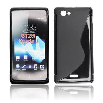 ForCell Zadní Kryt Lux S Black pro Sony ST25i