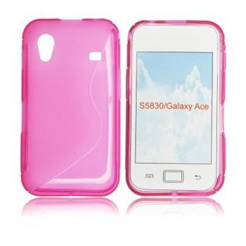 ForCell Zadní Kryt Lux S Pink pro Samsung S5830