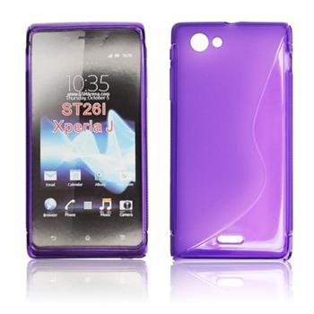 ForCell Zadní Kryt Lux S Violet pro Sony ST26i