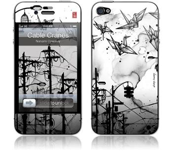 GelaSkins Cable Cranes iPhone 4 / 4S