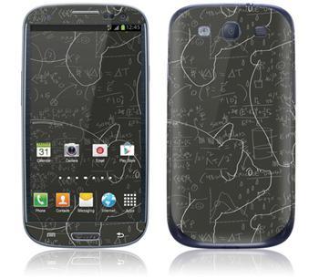 GelaSkins Pigs & Maths Samsung Galaxy SIII i9300