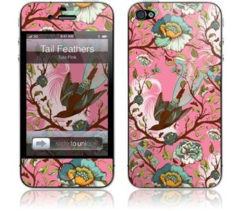 GelaSkins Tailn Feathers iPhone 4