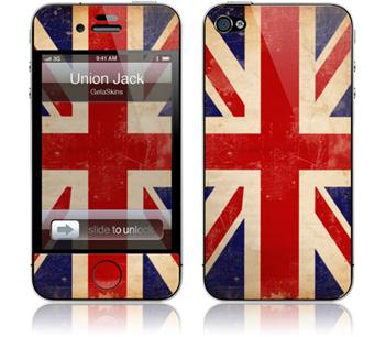 GelaSkins Union Jack iPhone 4 / 4S