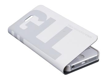 GOLLA flip pouzdro pro Apple iPhone 5 Carlos G1493 White