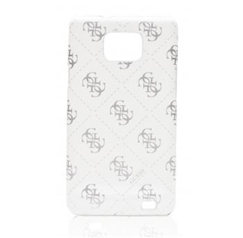 Guess White Zadní Kryt pro Samsung i9100