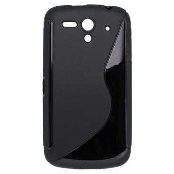 Gumené puzdro Huawei Ascend G300 čierne