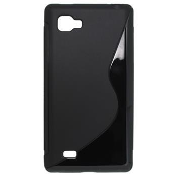 Gumené puzdro LG Optimus 4X HD čierne