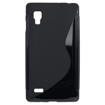 Gumené puzdro LG Optimus L9 čierne