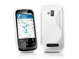 Gumené puzdro Nokia Lumia 510 biele