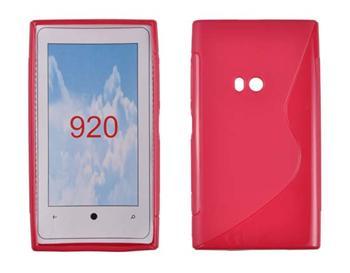 Gumené puzdro Nokia Lumia 920 Červené