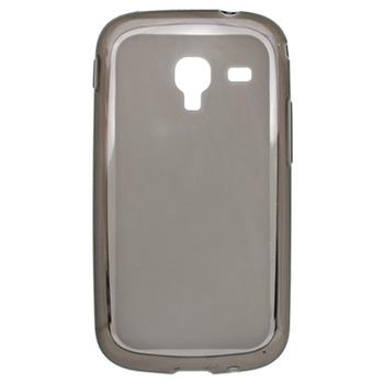 Gumené puzdro Samsung Galaxy Ace II i8160 šedé transparentné