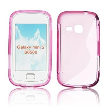Gumené puzdro Samsung Galaxy Mini 2 S6500 ruzove