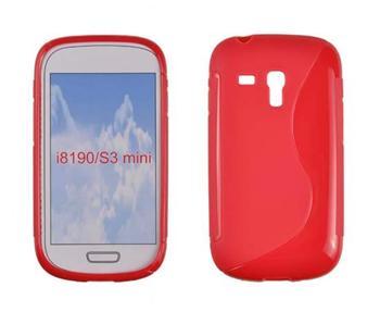 Gumené puzdro Samsung Galaxy S3 Mini i8190, S3 mini i8200 VE Oranžové
