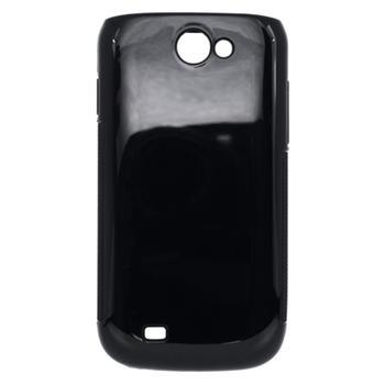 Gumené puzdro Samsung i8150 Galaxy W čierne
