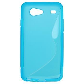 Gumené puzdro Samsung i9070 Galaxy S Advance svetlo modré