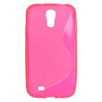 Gumené puzdro Samsung i9500 Galaxy S4 ružové