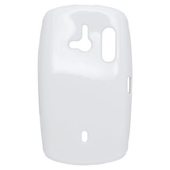 Gumené puzdro Sony Ericsson Xperia Live WT19i biela