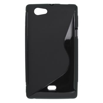 Gumené puzdro Sony Xperia Miro ST23i čierne