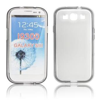 Gumové puzdro Samsung Galaxy S III (i9300/S3 i9301 Neo) transparentne
