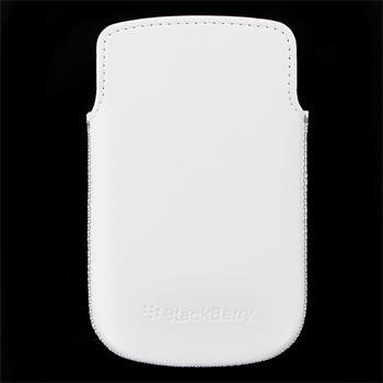 HDW-38844-002 BlackBerry kožené Pouzdro Biele (Bulk)