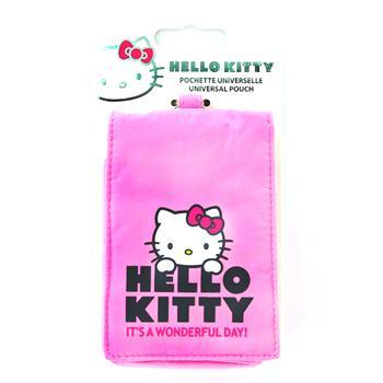 HKPOFLP4P Hello Kitty Vertical Flap Pastel4 Universal Pouzdro Pink (EU Blister)
