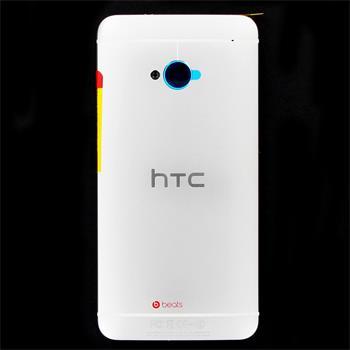 HTC ONE (M7) White Zadní Kryt