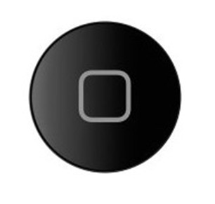 iPad2 Home Tlačítko Black