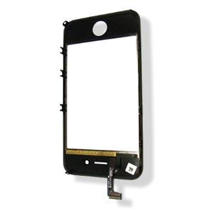 iPhone 4 Dotyková Deska vč. Sklíčka vč. mřížky Black